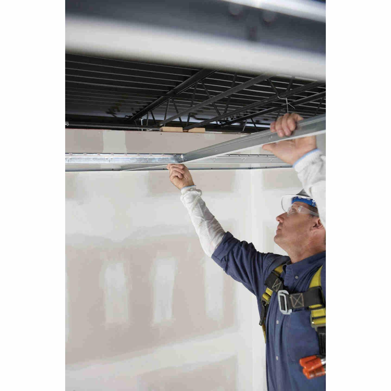 Donn 4 Ft. x 1-1/2 In. White Steel Fire Resistant Ceiling Tile Cross Tee Image 3