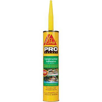 SikaBond Pro Select 10 Oz. High Performance Construction Adhesive