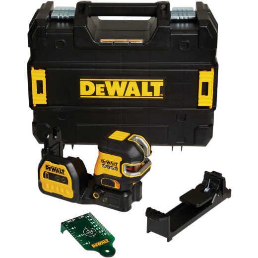 DeWalt 12V/20V MAX Cordless Green Self-Leveling Cross Line 2-Spot Laser Level (Tool-Only)