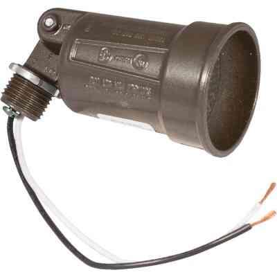 Bell 150W PAR38 Bronze Single Bulb Weatherproof Outdoor Lampholder, Shrink Wrapped